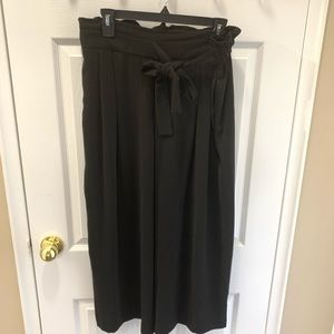 Zara Black Wide Pants
